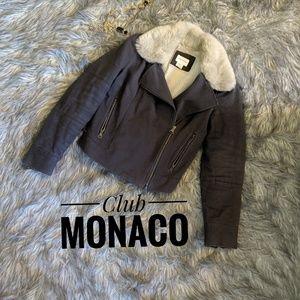 Club Monaco Woman's Bomber Jacket Size S